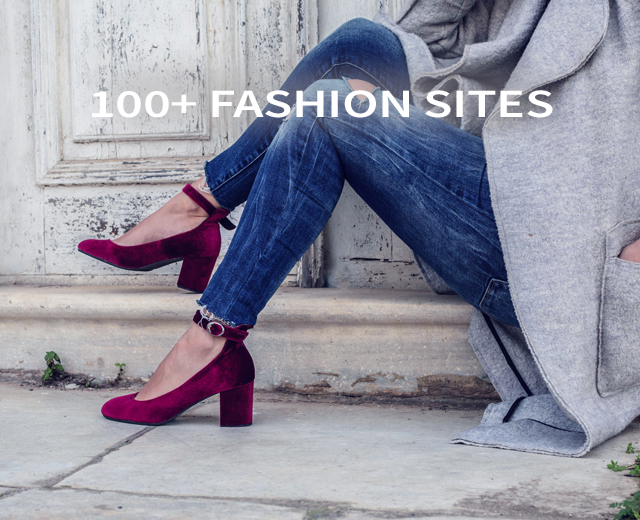 100+ Fashion Sites