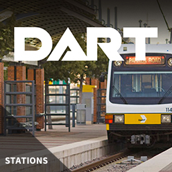 DART Rail - Station Posters